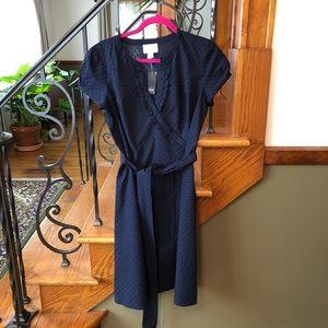 LOFT Dresses - NWT Ann Taylor Loft Swiss Dots Dress 10